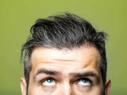 التخلص من الشعر الابيض بالاعشاب