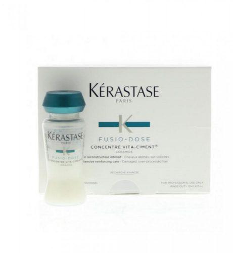 أمبولات كيرستاس فوزيو دوز Kerastase fusio dose للشعر التالف photo review