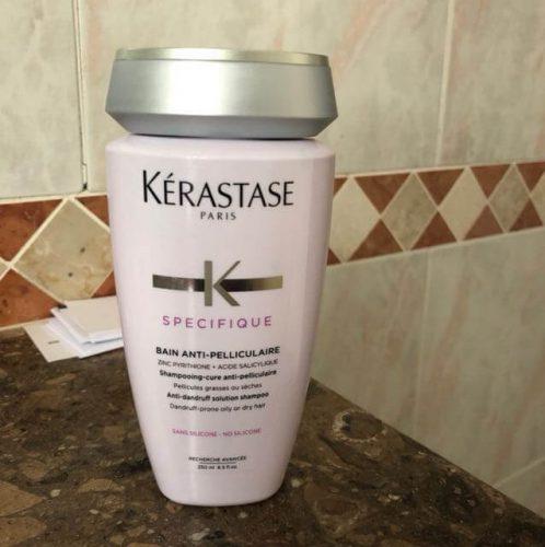 شامبو كريستاس سبيسيفيك بان أنتي-بليكيولار Kerastase Specifique Bain Anti-Pelliculaire لعلاج القشرة (حجمين) photo review